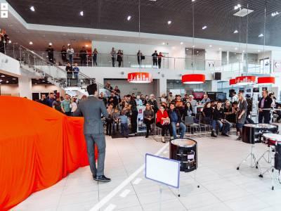 13 апреля в ДЦ Нижегородец прошла красочная презентация нового Nissan Quashqai, 2019г