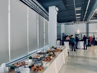 Кофе Брейк ☕ на стратсессии АРКПП по вопросу «Внедрение бережливого производства на предприятиях ВКХ» в технопарке Анкудиновка, 2019г