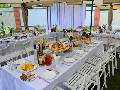 Свадьба в кубинском стиле, 30 персон, 2016г