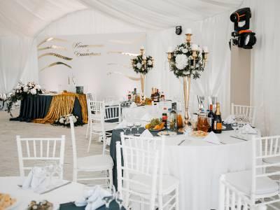 Свадьба в шатре. Лето 2018г